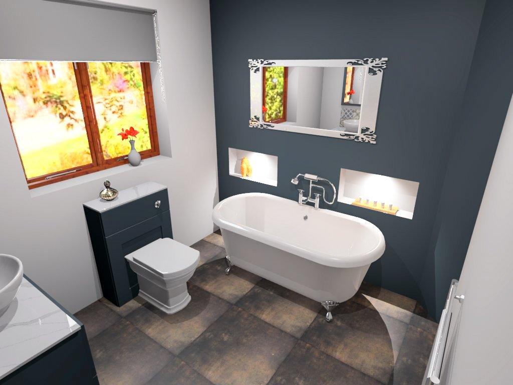 3D Design Idea for Bathroom