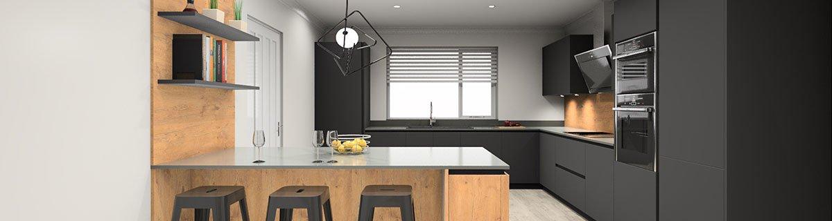 Kitchen Ideas - 3D designs for German Design kitchens from Rotpunkt