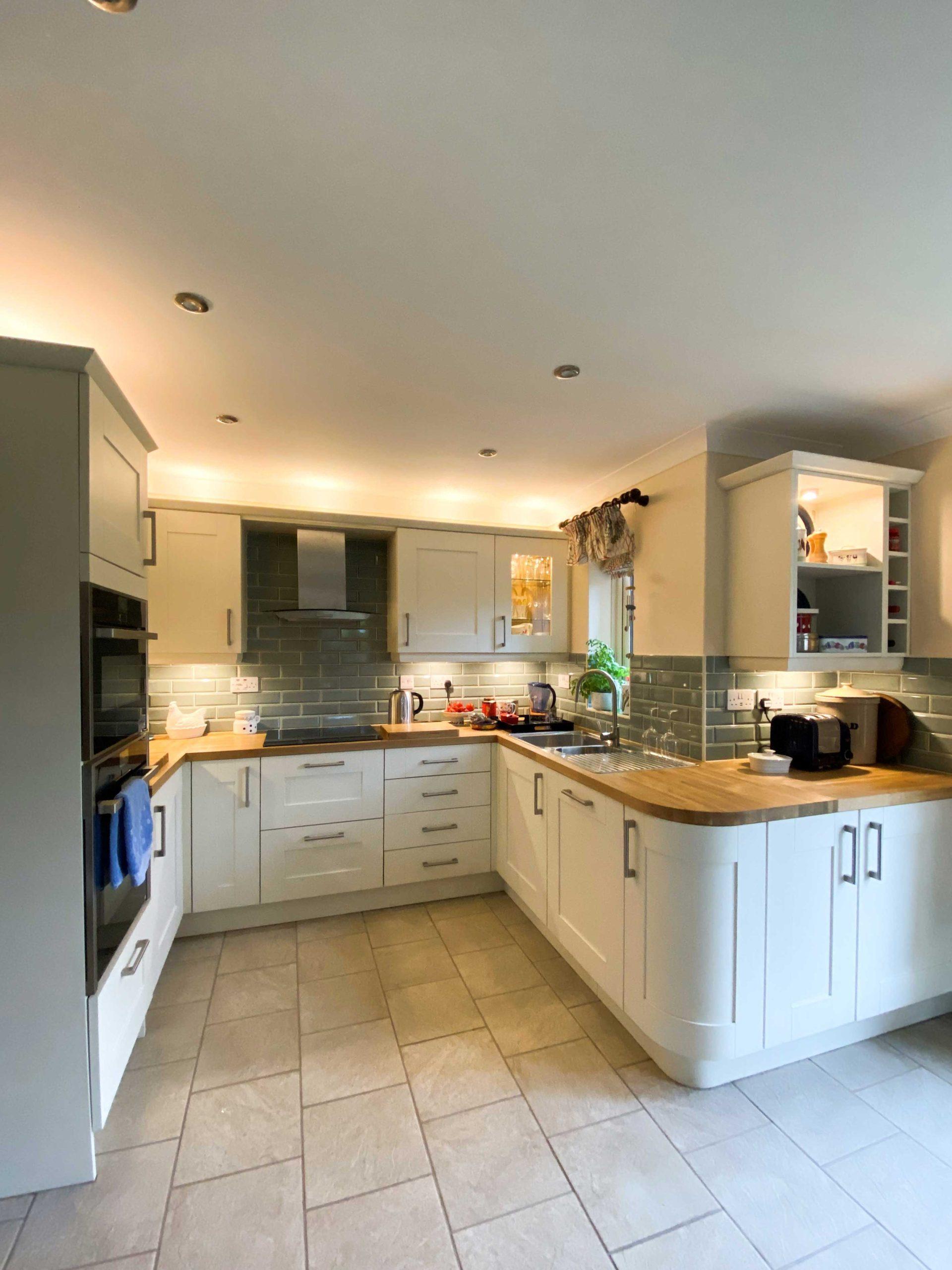Symphony Rockfort Ivory Shaker kitchen units