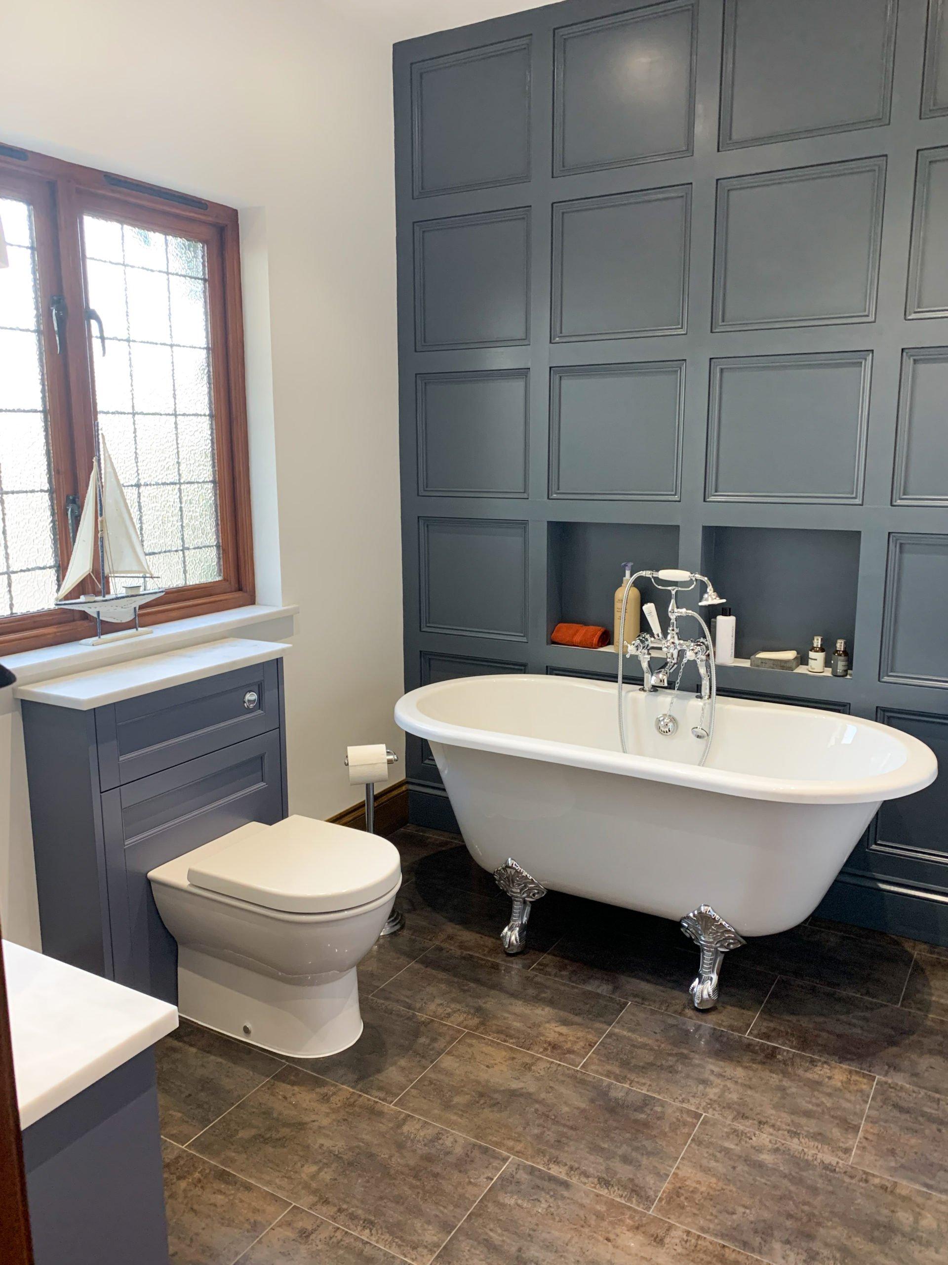 Traditional Bathroom look