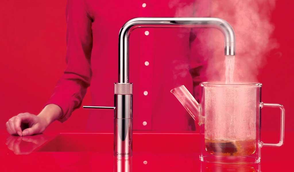 quooker boiling water tap - appliances for designer kitchens
