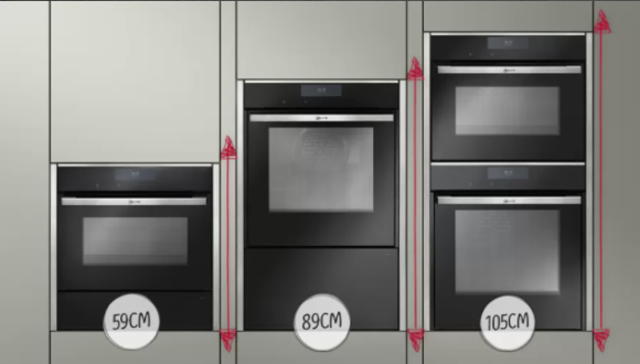 neff ovens - NEFF double oven and NEFF Seemless Combination