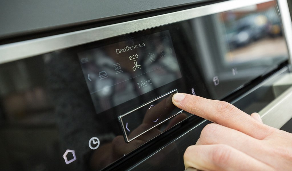 NEFF ovens with innovative features