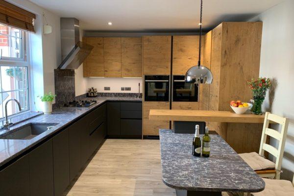 Rotpunkt kitchen and kitchen island