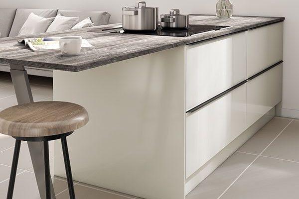 Symphony Kitchen - Inline Alta Dusk & Pearl Grey