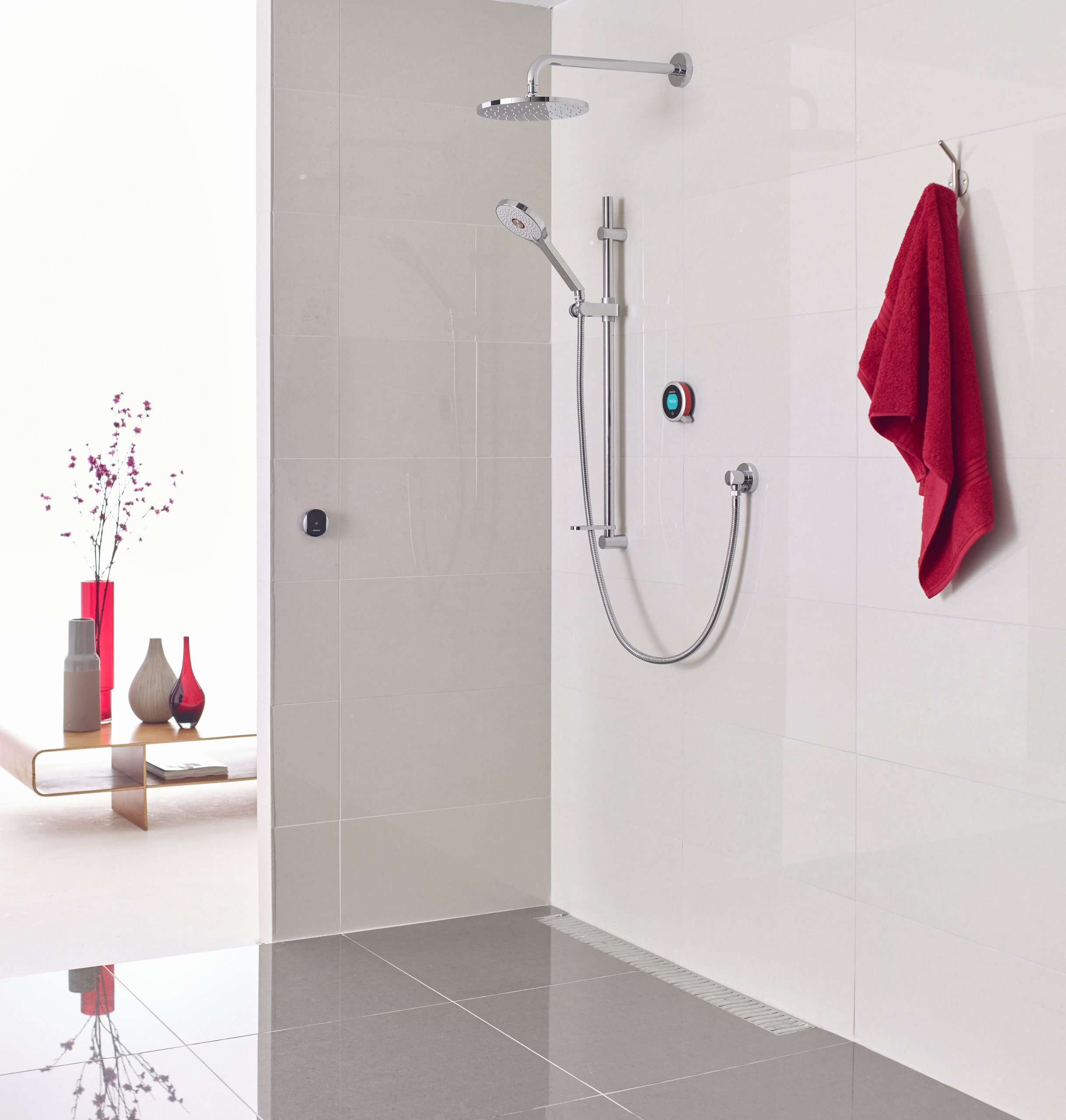 Perfect showering with Aqualisa Q Smart Showers