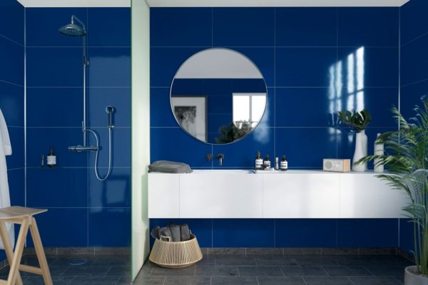 Bathroom Ideas - Colourful Bathroom with Fibo Panels
