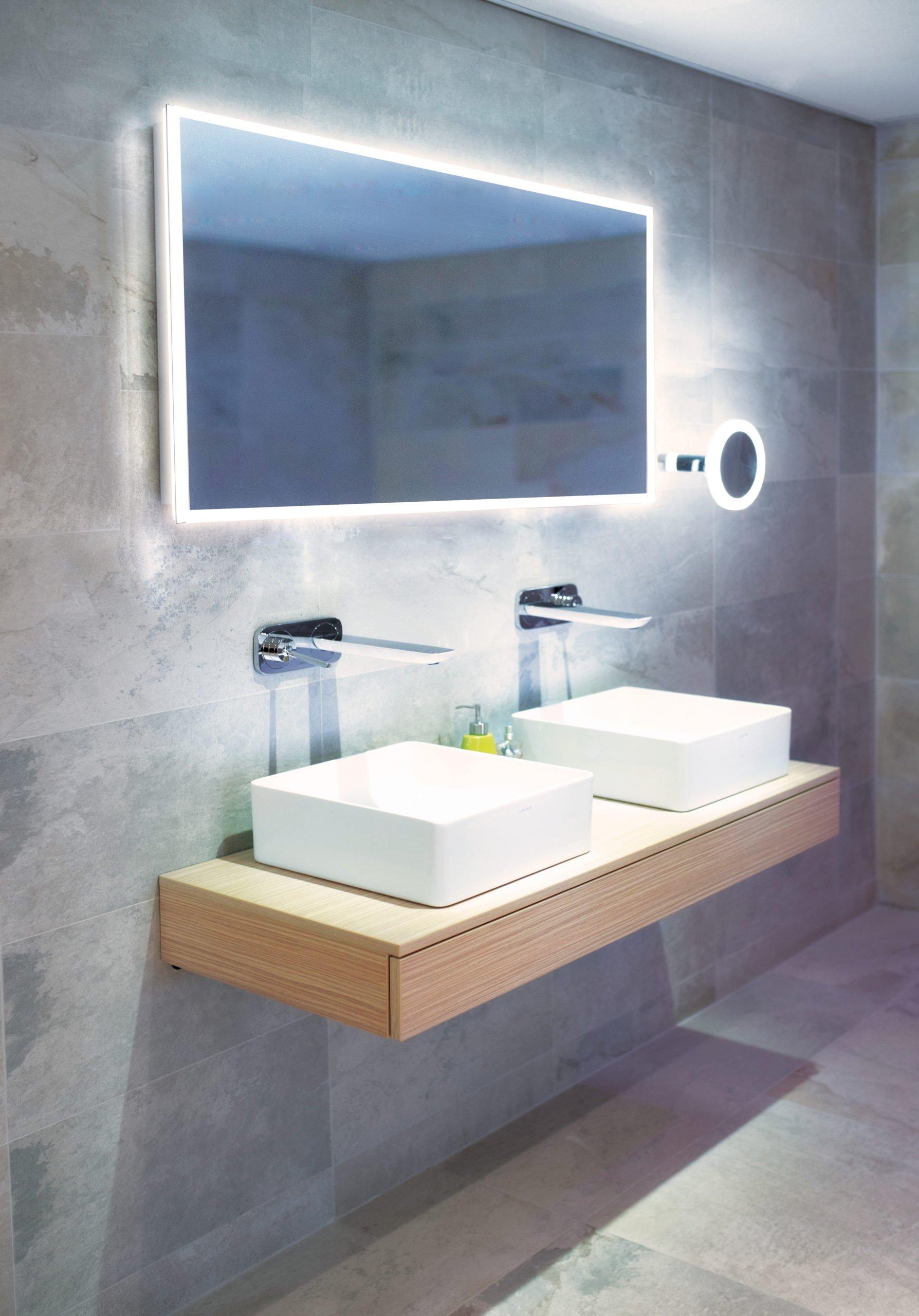 A double basin deserves the best illumination