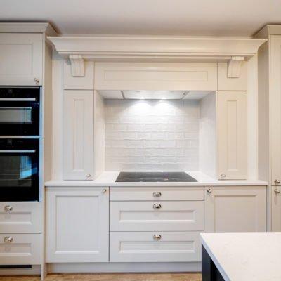 Shaker kitchen - white kitchen