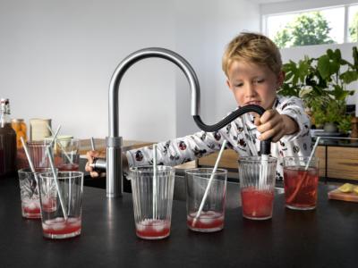 Quooker flex - safe for little hands in the kitchen