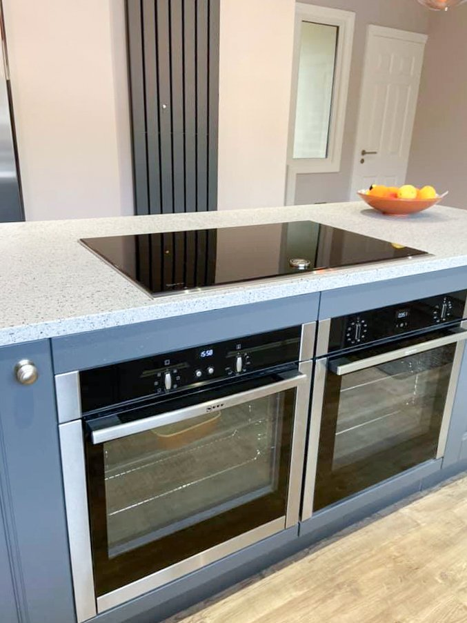 NEFF double oven and induction hob