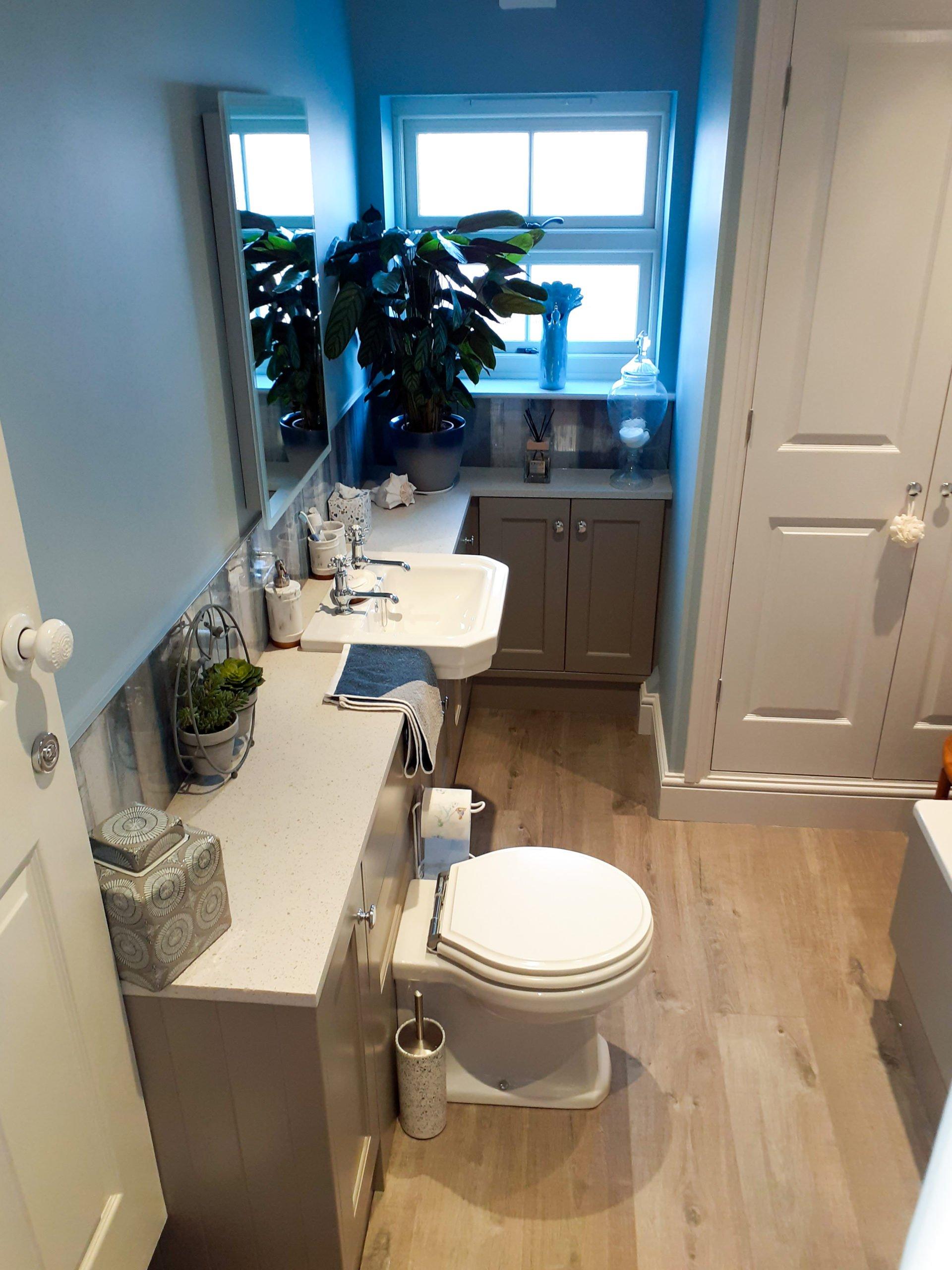 Stylish Roper Rhodes bathroom furniture