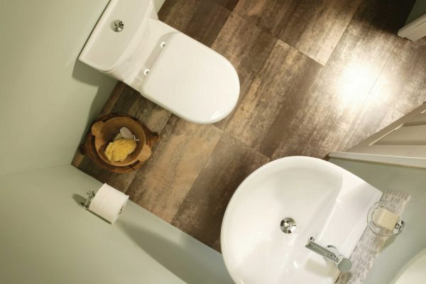 Cloakrooms are usually tight on space but with the right design can be a mini oasis
