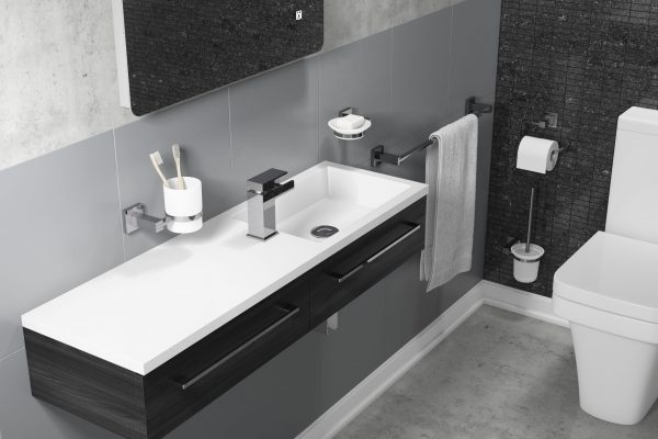 Small Bathroom Ideas - Narrow basins can free up valuable space