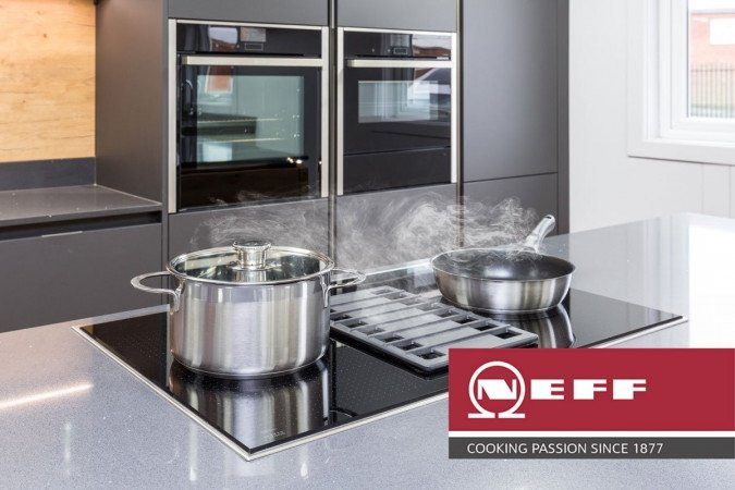 Say goodbye to  extractors with a  self-venting hob